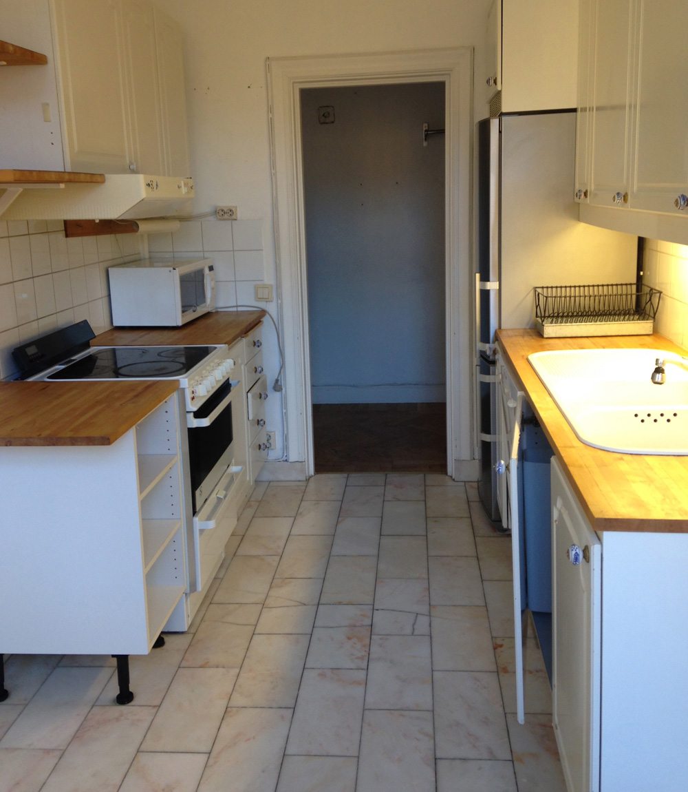 The kitchen.   sandra beijer   metro mode